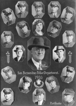 SBPD 1926 Chief Burcham